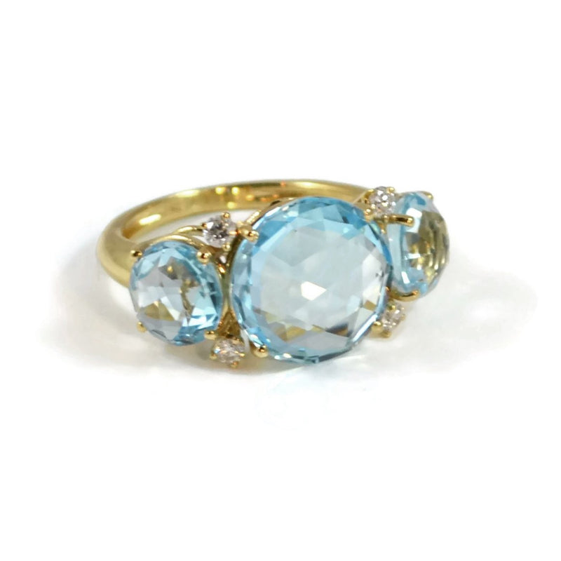 A-FURST-LILIES-3-STONE-RING-BLUE-TOPAZ-DIAMONDS-YELLOW-GOLD-A1400GUU1