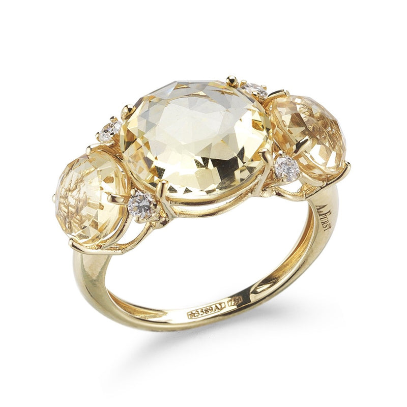A-FURST-LILIES-RING-CITRINE-DIAMONDS-YELLOW-GOLD-A1400GCC1