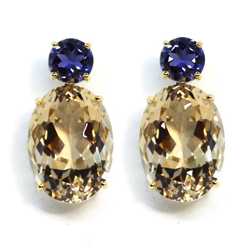 A-FURST-PARTY-DROP-EARRINGS-CHAMPAGNE-CITRINE-IOLITE-YELLOW-GOLD-O1750GCCI