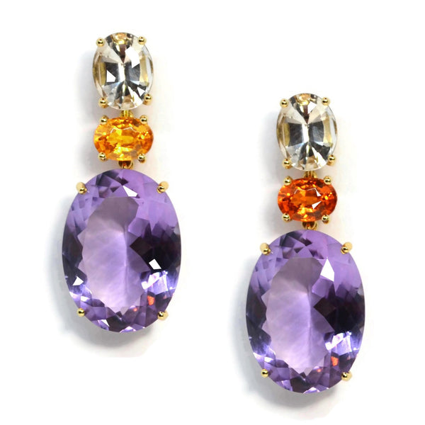 A-FURST-PARTY-DROP-EARRINGS-CITRINE-MANDARIN-GARNET-AMETHYST-YELLOW-GOLD-O1793GCCSPA