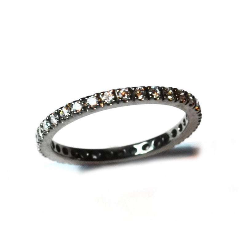 A-FURST-FRANCE-ETERNITY-BAND-RING-WHITE-DIAMONDS-BLACKENED-GOLD-A1290N1-1.5