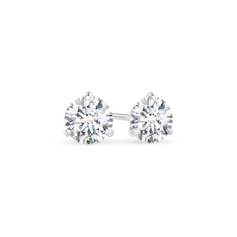 AF Jewelers, 1.00 carats, Diamond Studs Earrings, White Gold