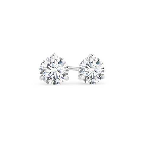 AF Jewelers, 1.50 carats, Diamond Studs Earrings, White Gold