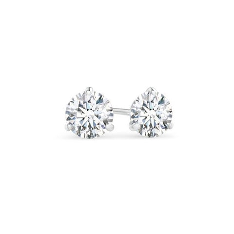 AF Jewelers, 0.20 carats, Diamond Studs Earrings, White Gold