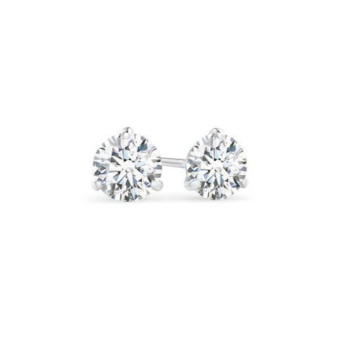 AF Jewelers, 0.63 Diamond Studs Earrings, White Gold
