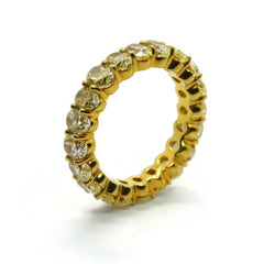 AF-JEWELERS-ETERNITY-BAND-FANCY-YELLOW-OVAL-CUT-DIAMONDS-YELLOW-GOLD
