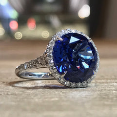 AF-JEWELERS-HALO-RING-TANZANITE-DIAMONDS-PLATINUMS-2-RG-3511