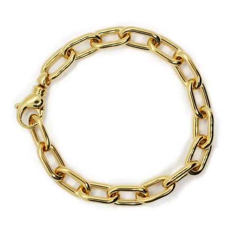 AF Collection Link Chain  Bracelet, 18k Yellow Gold