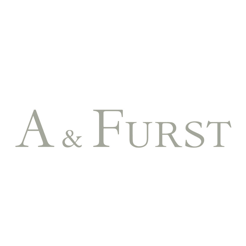 A & Furst - Gaia - Small Stackable Ring with Swiss Blue Topaz, 18k Yellow Gold