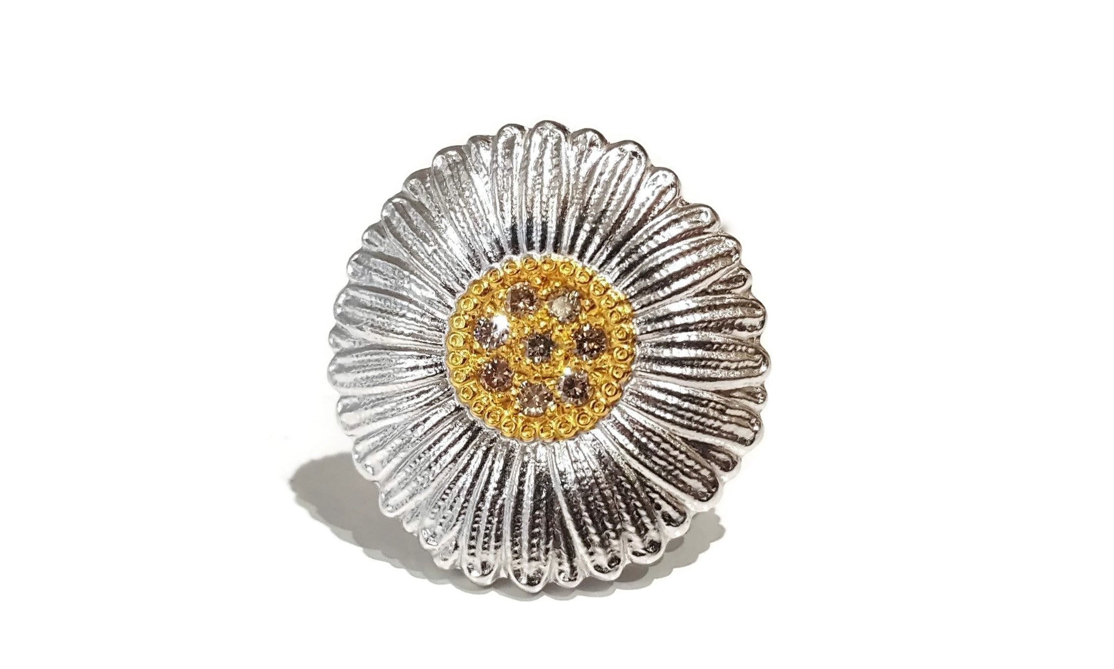 BUCCELLATI-BLOSSOMS-DAISY-RING-BROWN-DIAMONDS-STERLING-SILVER_1