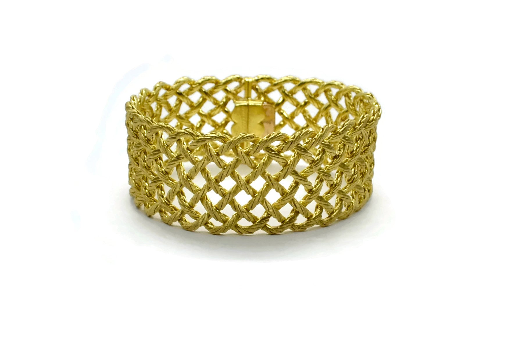 BUCCELLATI-CREPE-DE_CHINE-BRACELET-YELLOW-GOLD-AF-JEWELERS-NAPA-VALLEY