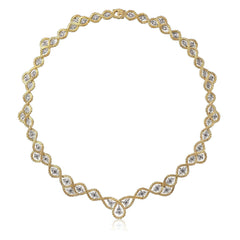 BUCCELLATI-ETOILEE-NECKLACE-DIAMONDS-YELLOW-WHITE-GOLD-93447