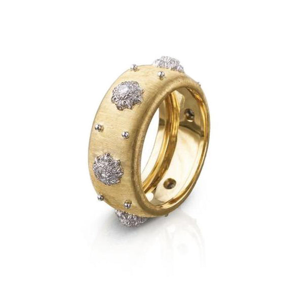 BUCCELLATI-MACRI-BAND-RING-DIAMONDS-YELLOW-WHITE-GOLD-W16684
