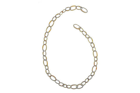 Pomellato Oval Link Chain Necklace, 18k Rose Gold