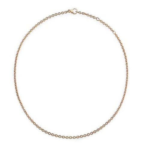 Pomellato Rolo Chain Necklace, 18k Rose Gold. (Available only in store or by telephone order).
