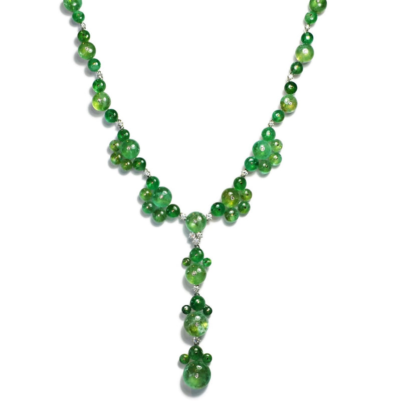 CABOCHON-EMERALD-DROP-NECKLACE