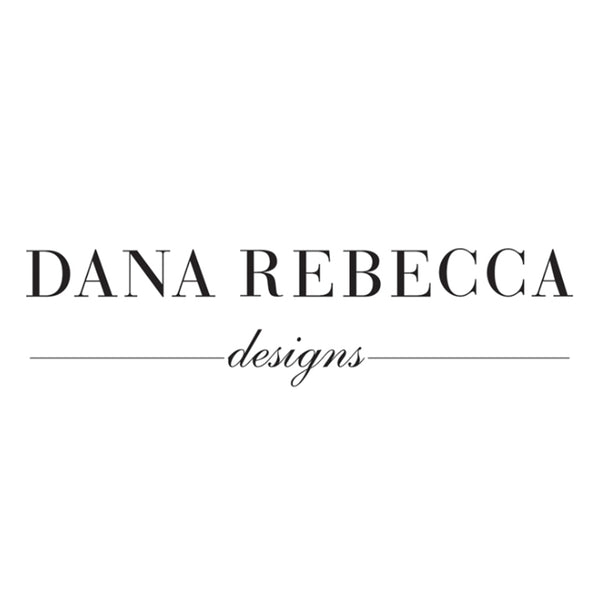 Dana Rebecca Designs - Emily Sarah - Triangle Huggies, White Gold