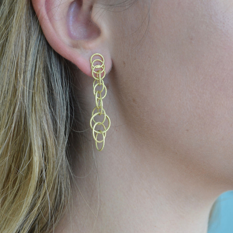 BUCCELLATI-HAWAII-DROP-CHAIN-EARRINGS-YELLOW-GOLD