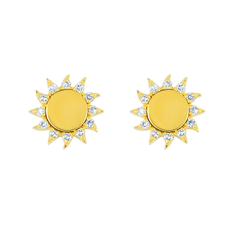 EF-60930-you-are-my-sunshine-yellow-gold-stud-earrings