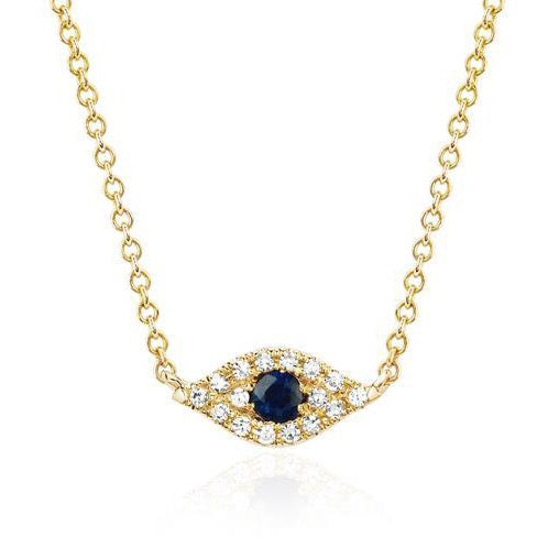 EF-Collection-Yellow-Gold-Diamond-Blue-Sapphire-Evil-Eye-Necklace-60246
