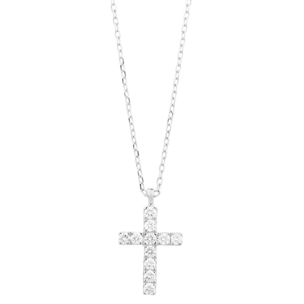 White-Gold-Diamond-Cross-Pendant-Necklace-EP8106003B