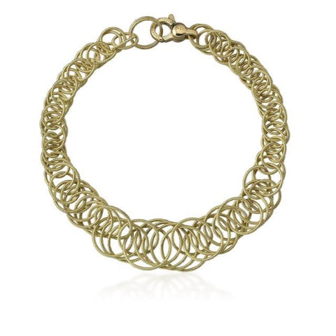 "Buccellati ""Hawaii"" Chain Bracelet, 18k Yellow Gold"