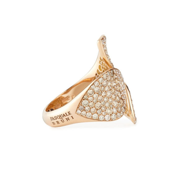 Pasquale Bruni - Giardini Segreti - Ring, 18K Rose Gold with Diamonds
