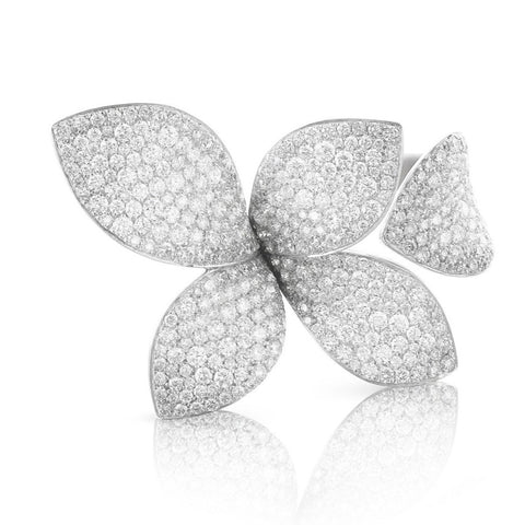 Pasquale Bruni - Giardini Segreti - Ring, 18K White Gold with Diamonds