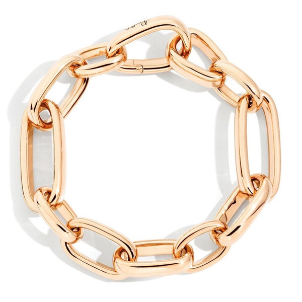Pomellato-Iconica-Medium-Link-Bracelet-18k-Rose-Gold
