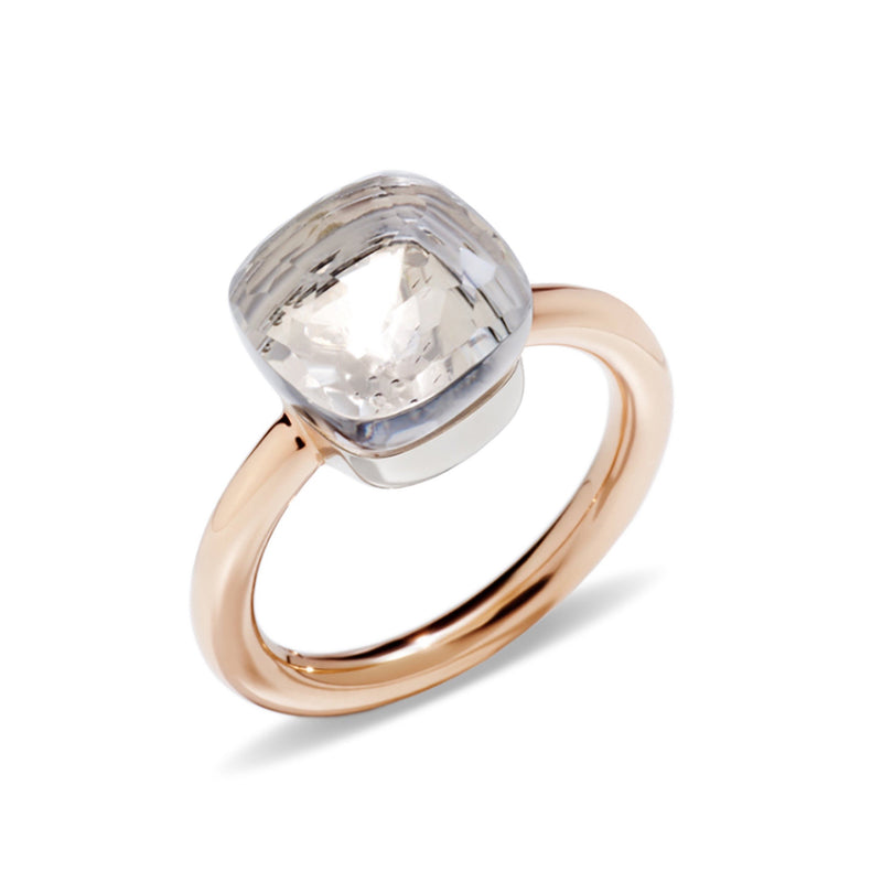 POMELLATO-NUDO-CLASSIC-STACKABLE-RING-WHITE-TOPAZ-ROSE-GOLD-PAA1100O6000000TB