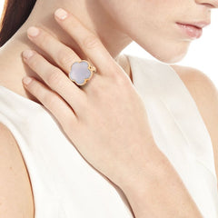 Pasquale-Bruni-Rose-Gold-Diamonds-Blue- Chalcedony-Milky-Quartz-ring-15050R