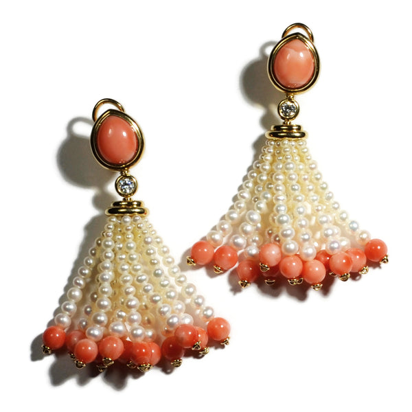 a-furst-clare-tassel-drop-earrings-corals-pearls-diamonds-yellow-gold