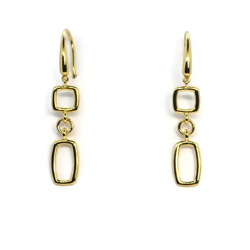 A & Furst - Gaia Oro - 18k Yellow Gold Drop Earrings