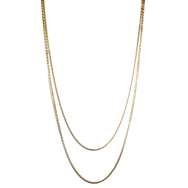af-jewelers-gold-collection-double-chain-mariner-ball-necklace-yellow-gold-C2002G-22/25_1