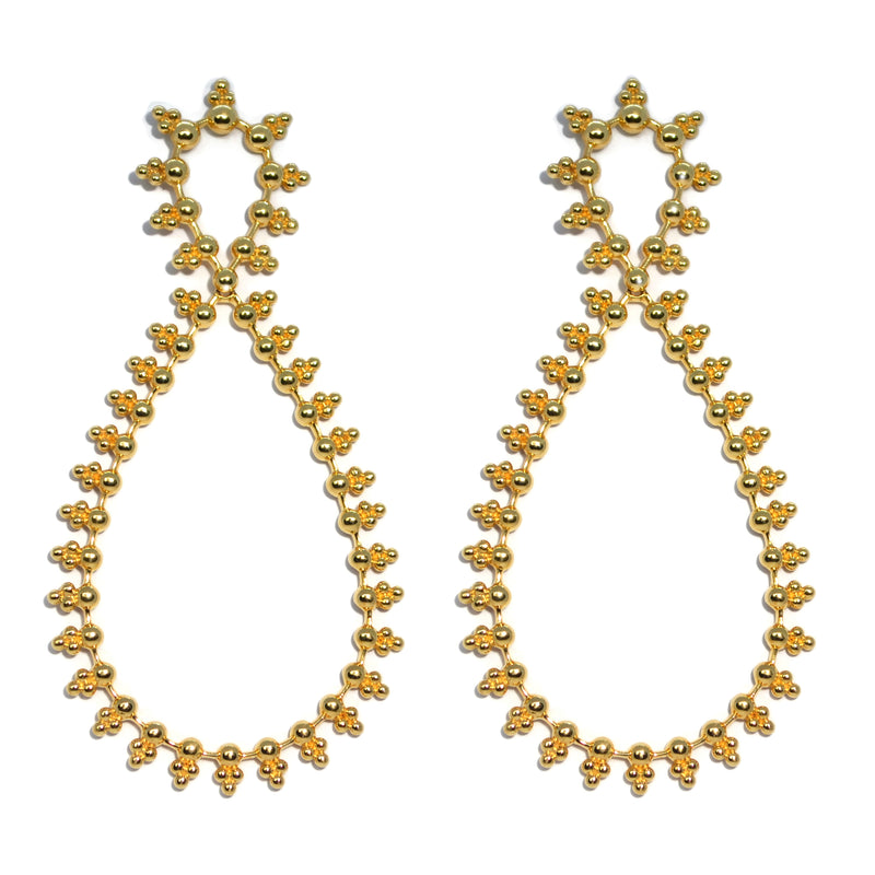 Carla Amorim - Martha - Drop Earrings, Yellow Gold