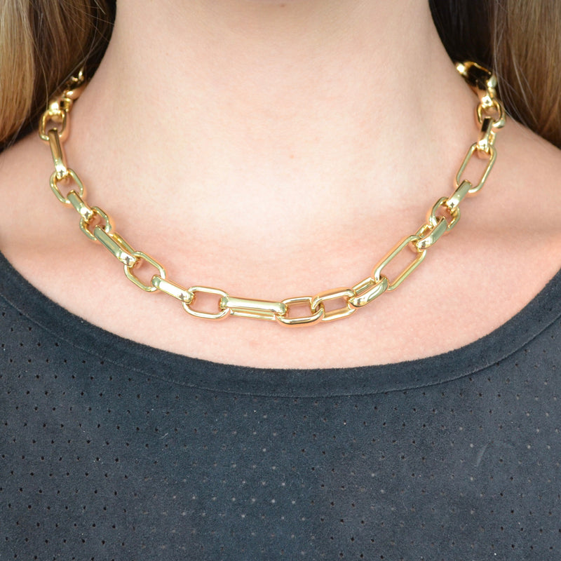 afj-gold-collection-rectangular-chain-link-necklace-yellow-gold