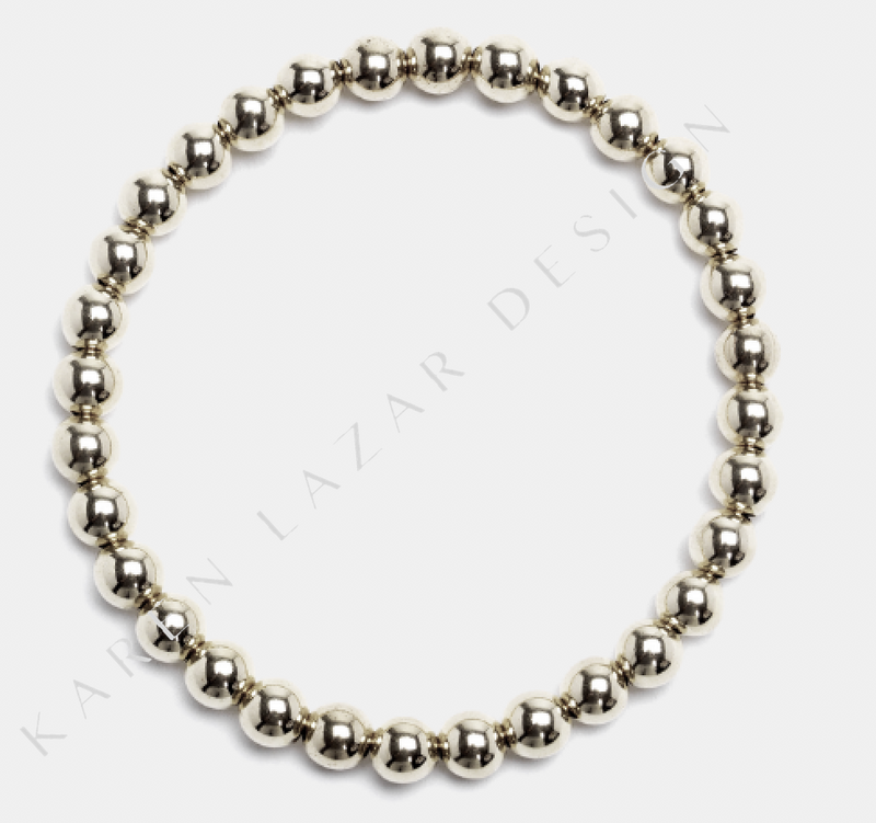 karen-lazar-5mm-plain-sterling-silver-flex-bracelet