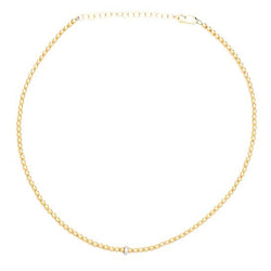 karen-lazar-yellow-gold-beaded-necklace-diamond-rondelle