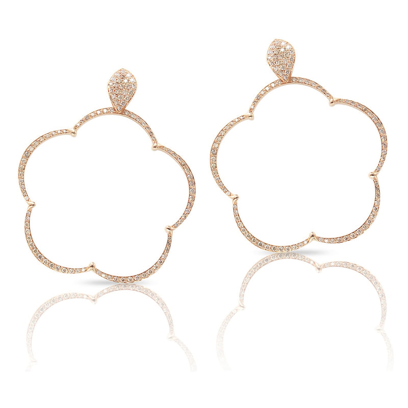 Pasquale Bruni - Ton Jolie - Earrings, 18K Rose Gold and Diamonds