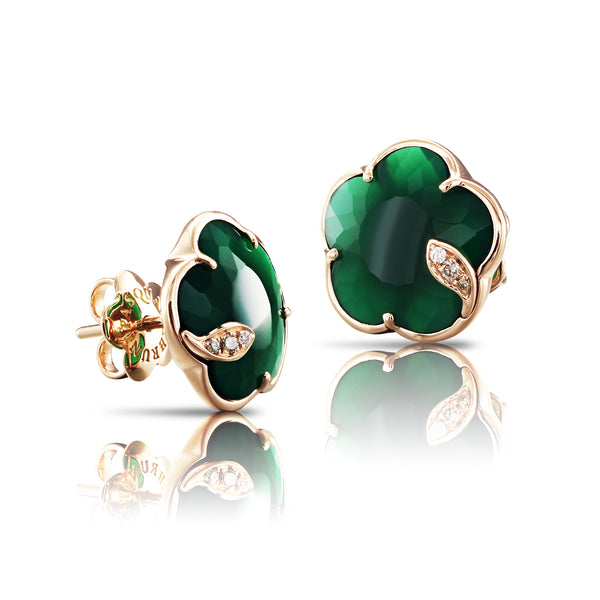 pasquale-bruni-petit-joli-earrings-green-agate-diamonds-rose-gold-16113R
