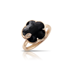 Pasquale Bruni - Petit Joli - Ring, Black Onyx, Diamonds, and 18k Rose Gold