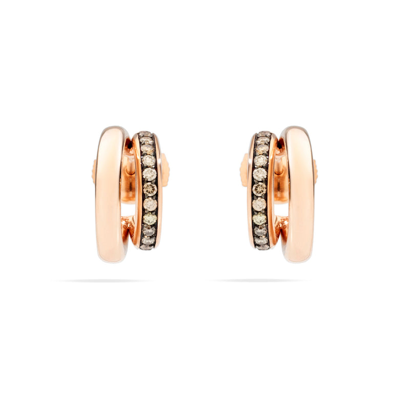 pomellato-iconica-hoop-earrings-brown-diamonds-rose-gold-O.B8112BR/O7