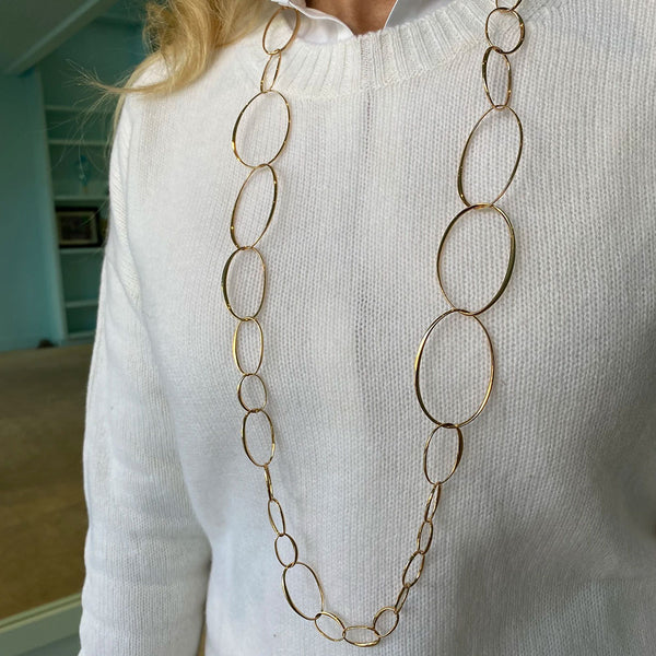 Pomellato - Long Gold Necklace, 18K Rose Gold