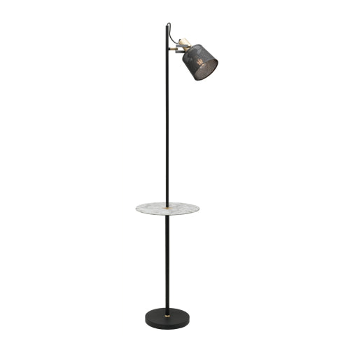 Asta Floor Lamp with Shelf