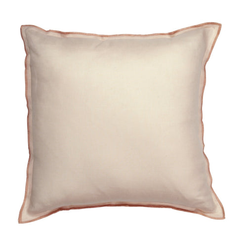 Alessa Cushion - 100% Linen - Nude