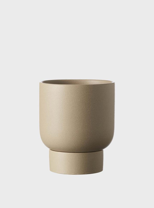 EVERGREEN COLLECTIVE Finch Pot - Taupe - 2 Sizes