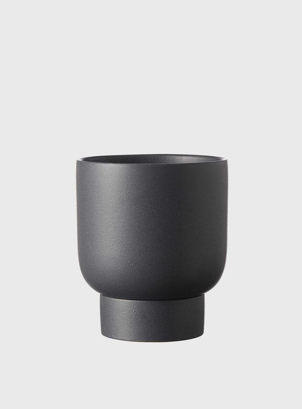 EVERGREEN COLLECTIVE Finch Pot - Charcoal - 2 Sizes