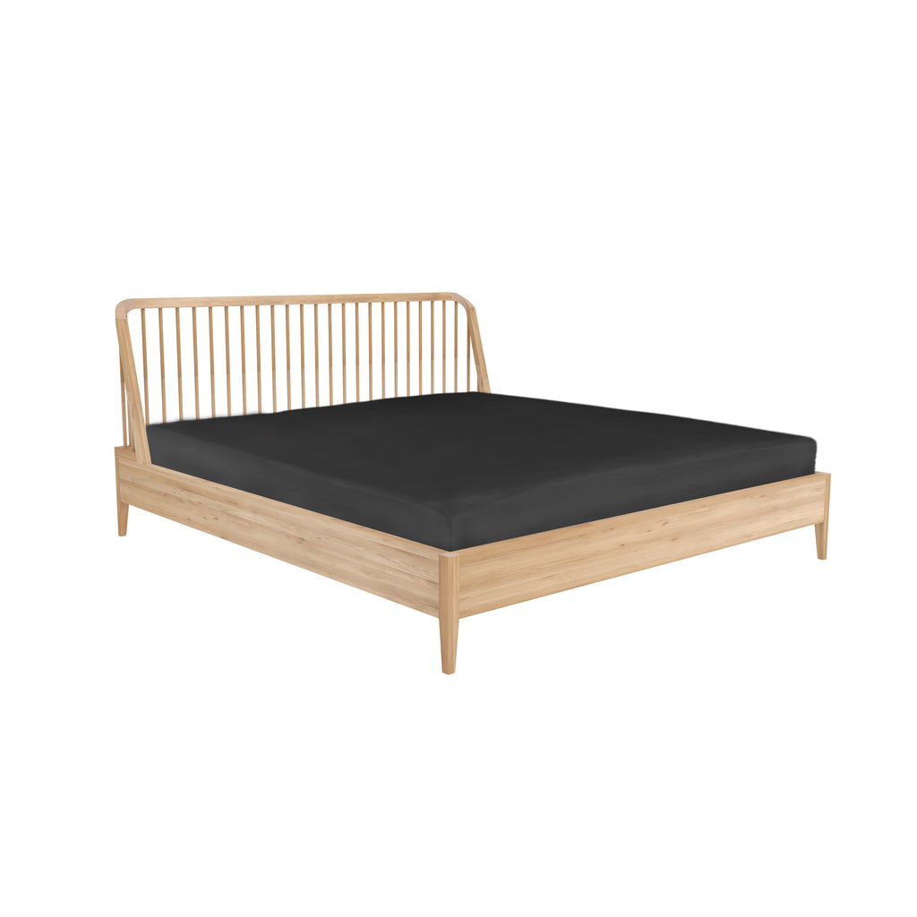 Ethnicraft Oak Spindle Bed