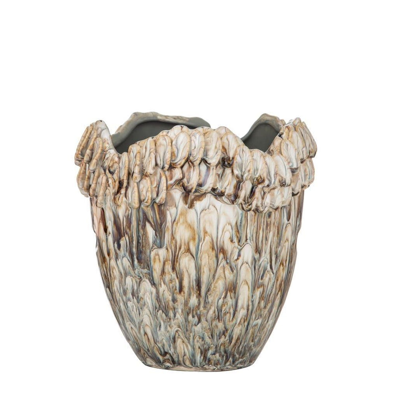 Giselle Reactive Glaze Planter Pot - Small