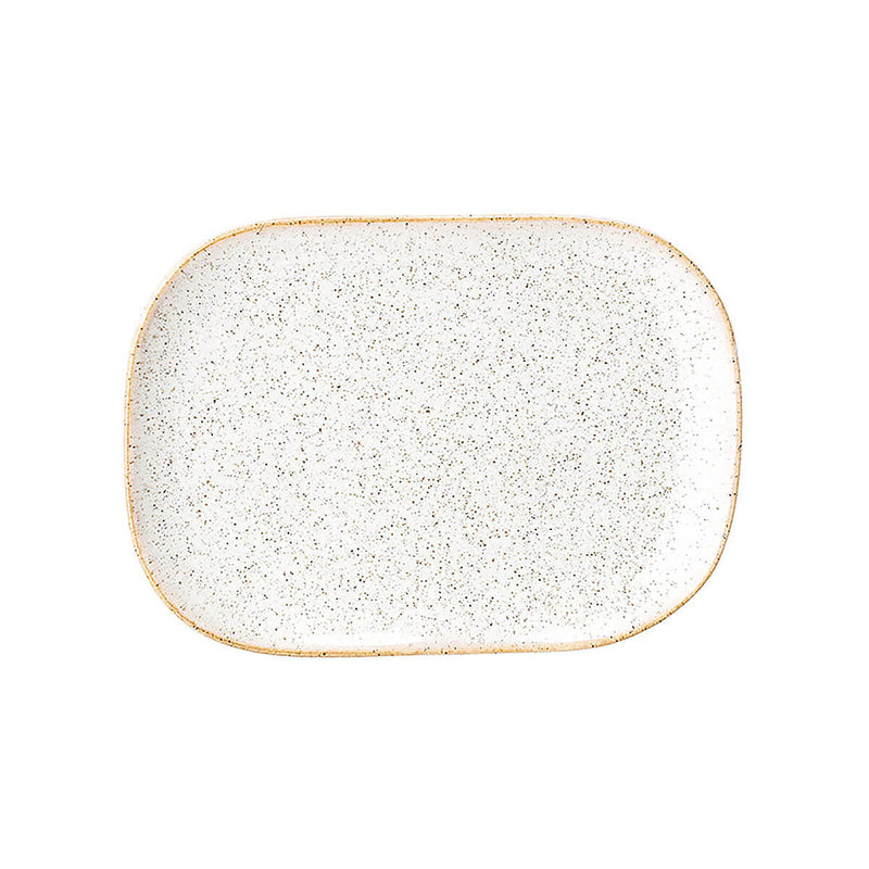 BLOOMINGVILLE Addison Serving Plate - Small White